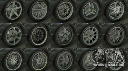 Real Wheels Pack pour GTA 5