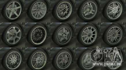 Real Wheels Pack für GTA 5