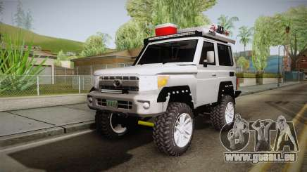Toyota Land Cruiser Machito 2013 Sound Y für GTA San Andreas