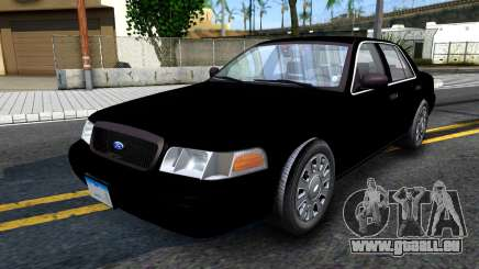 Ford Crown Victoria OHSP Unmarked 2010 pour GTA San Andreas