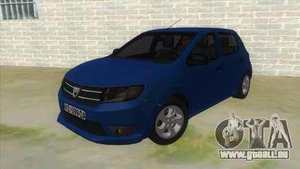 2016 Dacia Sandero für GTA San Andreas