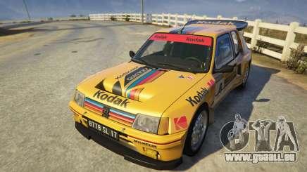 Peugeot 205 Turbo 16 für GTA 5