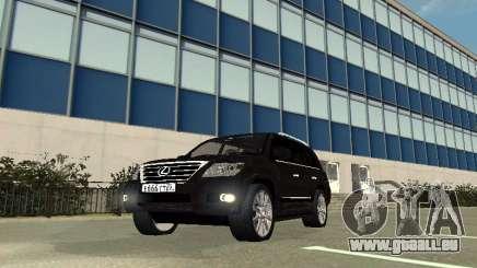 Lexus LX 570 2011 für GTA San Andreas