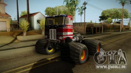 Peterbilt Monster Truck für GTA San Andreas