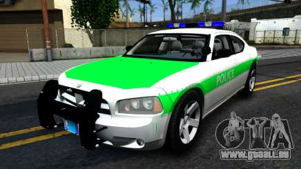 Dodge Charger German Police 2008 pour GTA San Andreas