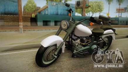 Harley-Davidson FLSTF 1990 v1.1 pour GTA San Andreas