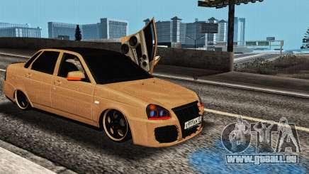 Lada Priora Tuning für GTA San Andreas