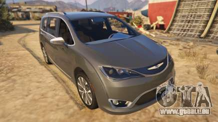 Chrysler Pacifica Limited 2017 pour GTA 5