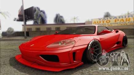 Ferrari 360 LB Work für GTA San Andreas