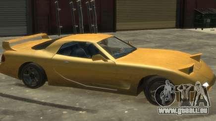 ZR 350 GTA San Andreas v1.0 für GTA 4