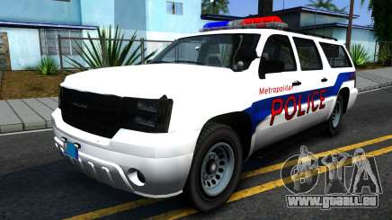 Declasse Granger Metropolitan Police 2012 für GTA San Andreas