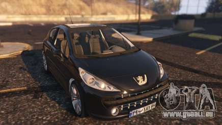 Peugeot 207 für GTA 5