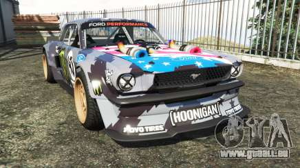 Ford Mustang 1965 Hoonicorn v1.3 [add-on] für GTA 5