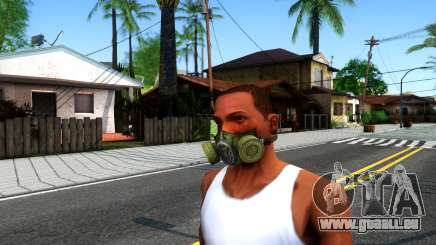 Gas Mask From S.T.A.L.K.E.R. Clear Sky für GTA San Andreas