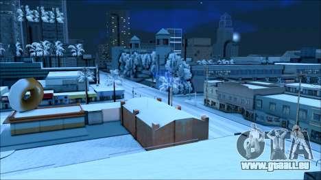 Nouveau hiver mod pour GTA San Andreas cinquième écran