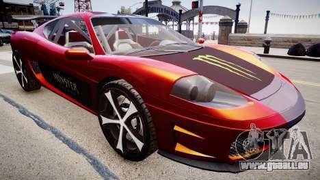 Modified Turismo für GTA 4 rechte Ansicht
