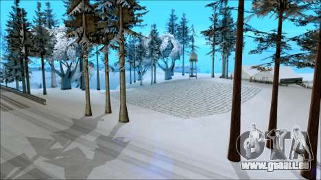 Nouveau hiver mod pour GTA San Andreas troisième écran