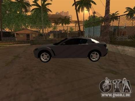 Mazda RX-8 für GTA San Andreas Innen