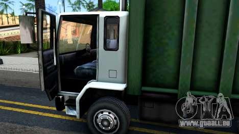 DFT Trash pour GTA San Andreas vue intérieure
