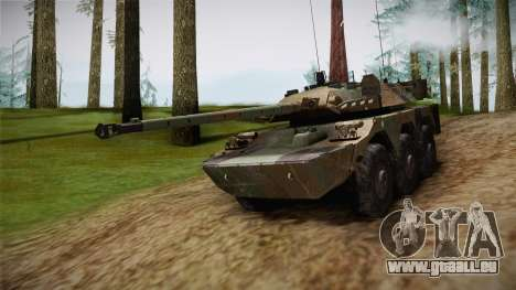 AMX-10RC für GTA San Andreas rechten Ansicht