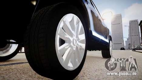 Toyota Land Cruiser 200 für GTA 4 Rückansicht