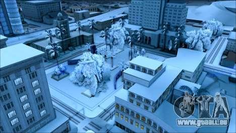 Nouveau hiver mod pour GTA San Andreas sixième écran