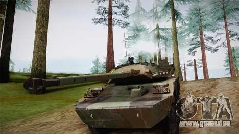 AMX-10RC für GTA San Andreas Rückansicht