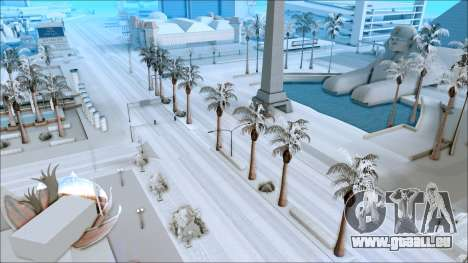 Nouveau hiver mod pour GTA San Andreas deuxième écran