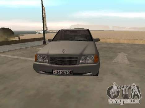 Mercedes-Benz C180 Armenian für GTA San Andreas linke Ansicht