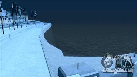 Nouveau hiver mod pour GTA San Andreas huitième écran