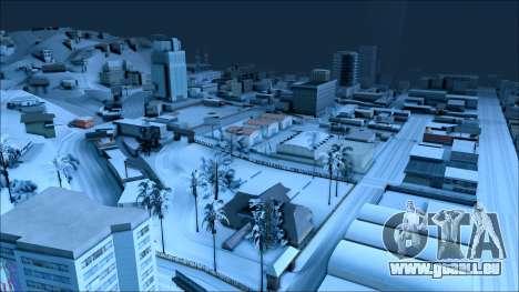 Nouveau hiver mod pour GTA San Andreas quatrième écran
