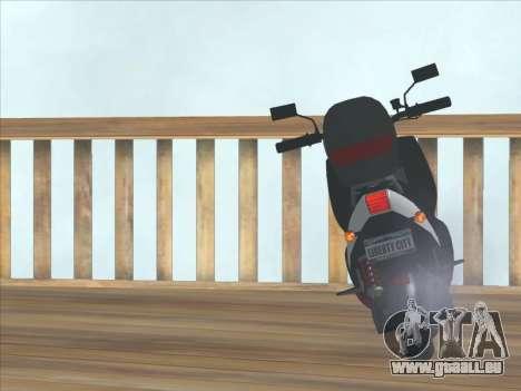 GTA IV Faggio Traveler pour GTA San Andreas vue de droite