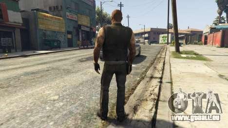 GTA 5 Left4Dead 1 Francis troisième capture d'écran