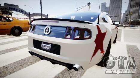 Ford Mustang Boss 302 2013 für GTA 4 hinten links Ansicht