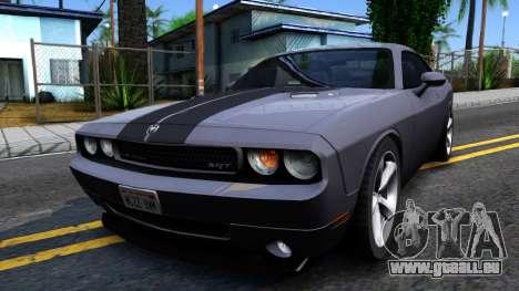 Dodge Challenger Unmarked 2010 für GTA San Andreas