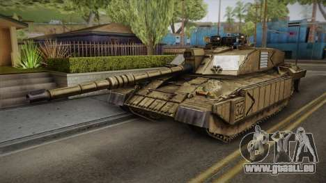 Challenger 2 Desert pour GTA San Andreas
