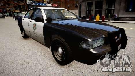 La voiture de police de GTA V pour GTA 4