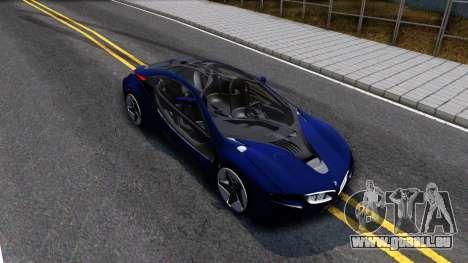 BMW Vision 3 pour GTA San Andreas vue de droite
