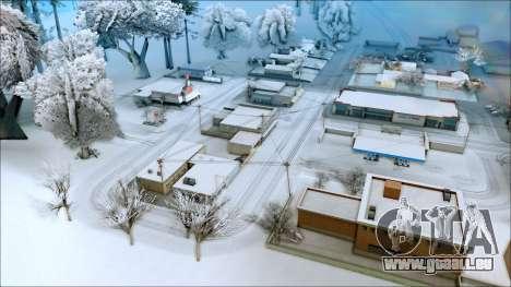 Nouveau hiver mod pour GTA San Andreas