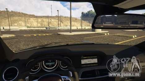 GTA 5 Mercedes-Benz C63 AMG W204 2014 rechte Seitenansicht