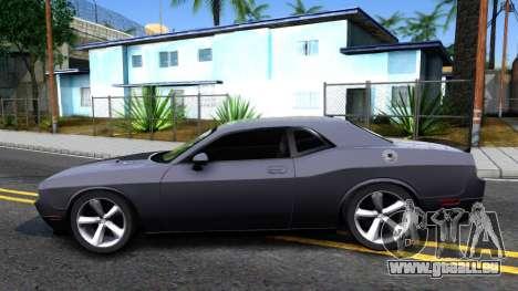 Dodge Challenger Unmarked 2010 für GTA San Andreas linke Ansicht