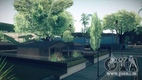 ENBSeries Dark green (Medium PC) für GTA San Andreas zweiten Screenshot