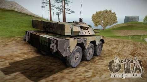 AMX-10RC für GTA San Andreas linke Ansicht