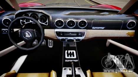 Modified Turismo für GTA 4 Innenansicht