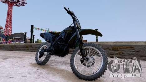 Suzuki RMZ pour GTA 4 est un droit