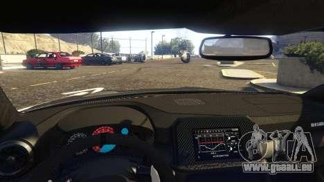 GTA 5 Nissan GTR Nismo 2017 rechte Seitenansicht