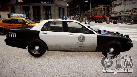 La voiture de police de GTA V pour GTA 4 est une gauche