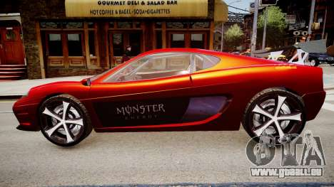 Modified Turismo für GTA 4 linke Ansicht