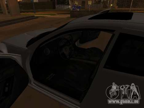 Mazda RX-8 pour GTA San Andreas moteur