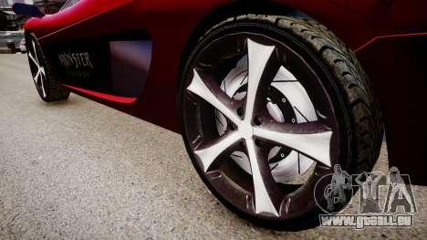 Modified Turismo für GTA 4 Rückansicht